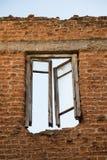 Alte Fenster Architektur von Istanbul-Ruinen Lizenzfreies Stockfoto