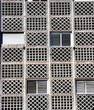 Alte Fenster und Stäbe Lizenzfreies Stockbild