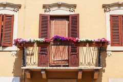 Alte Fenster in Verona, Italien Lizenzfreie Stockfotografie