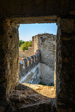 Alte Festung auf dem Fluss Dnister im Stadtbieger, Transnistrien Stadt innerhalb der Grenzen von Moldau darunter des Steuer-unrec Lizenzfreie Stockbilder