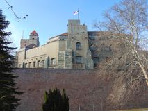 Alte Festung auf Kalemegdan, Belgrad, Serbien stockfoto