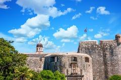 Alte Festung in Dubrovnik Stockbild