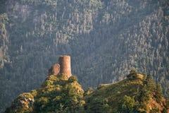 Alte Festung in Georgia stockbilder