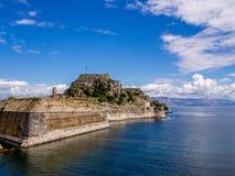 Alte Festung Korfus - Kerkyra Stockbild