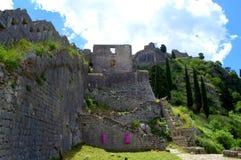 Alte Festung, Montenegro Lizenzfreies Stockbild