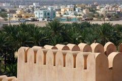Alte Festung in Oman Stockfotografie
