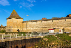Alte Festung Oreshek stockfoto