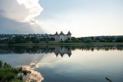 Alte Festung in Soroca, Moldau, stockfotografie