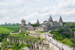 Alte Festung in Ukraine stockbild