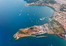 Alte Festung von Kerkyra, Korfu, Griechenland Lizenzfreie Stockbilder