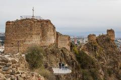 Alte Festung von Tiflis Stockfotos