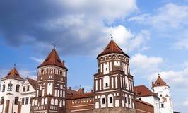 Alte Festung, Weißrussland lizenzfreies stockfoto