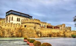 Alte Festungswand in alter Stadt Bakus Lizenzfreie Stockbilder