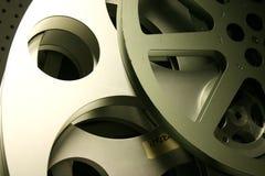Alte Film-Bandspulen Stockbild
