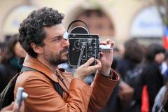 Alte Film-Kamera Bolex Lizenzfreie Stockbilder