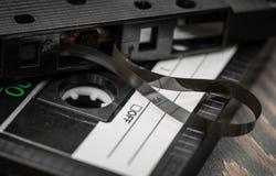 Alte Filmaudiokassette Stockfotografie