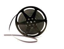 Alte Filmbandspule, getrennt Stockbild