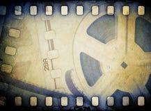 Alte Filmbildfilmrolle Stockfotografie