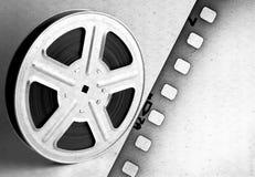 Alte Filmbildfilmrolle mit Band Lizenzfreie Stockfotografie