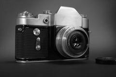 Alte Filmfotokamera Lizenzfreies Stockfoto