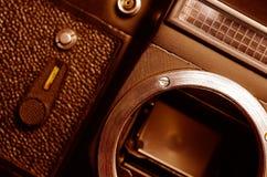 Alte Filmkamera Lizenzfreie Stockbilder