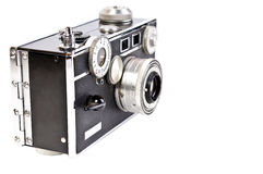 Alte Filmkamera Lizenzfreies Stockfoto