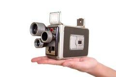 Alte Filmkamera Lizenzfreie Stockfotografie