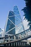 Alte finanze di Hong Kong Immagine Stock Libera da Diritti