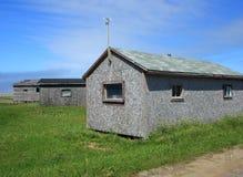 Alte Fischen-Bretterbude in Neufundland lizenzfreie stockbilder