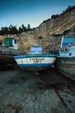 Alte Fischerboote Lizenzfreie Stockfotografie