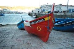 Alte Fischerboote Lizenzfreie Stockbilder