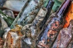 2 alte Flaschen Lizenzfreie Stockfotografie