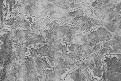 Alte flockige Farbe, die weg grungy gebrochener Wand abzieht Sprünge, Kratzen lizenzfreie stockfotografie