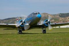Alte Flugzeuge Stockfotos