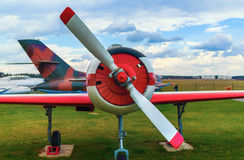 Alte Flugzeuge Stockbilder