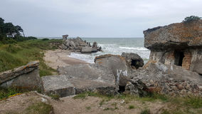 Alte Forts im liepaja, Lettland Stockfoto