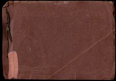 Alte Foto-Album-Scans (Inc.-Ausschnitts-Pfade) Lizenzfreies Stockbild