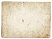 Alte Fotobeschaffenheit mit Flecken und Kratzern Lizenzfreie Stockbilder