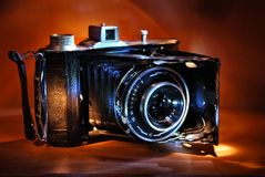 Alte Fotographie Stockbild