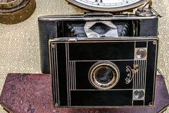 Alte Fotokamera 3 Stockfotografie