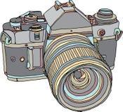 Alte Fotokamera der Weinlese Lizenzfreie Stockfotografie