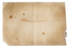 Alte Fotopapierbeschaffenheit mit Flecken und Kratzern Stockfoto