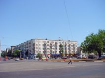 Alte Fotos von Baku-Stadt Stockbilder