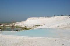 Alte Frühlinge von Pamukkale, die Türkei Stockbild