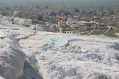 Alte Frühlinge von Pamukkale, die Türkei Lizenzfreies Stockfoto