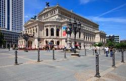alte Frankfurt stara oper opera Obrazy Stock
