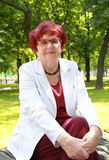 Alte Frau Lizenzfreie Stockbilder