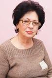 Alte Frau Lizenzfreies Stockfoto