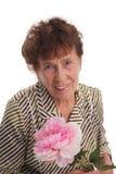 Alte Frau des Glückes lizenzfreie stockfotos