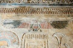 Alte Göttin Nekhbet des ägyptischen Geiers Lizenzfreie Stockfotografie